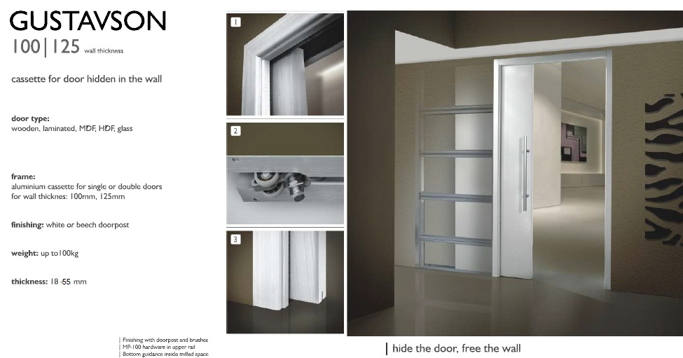 Single sliding door system with full jamb 100 mm white like eclisse ebay - Tips keeping sliding doors reliable functional ...